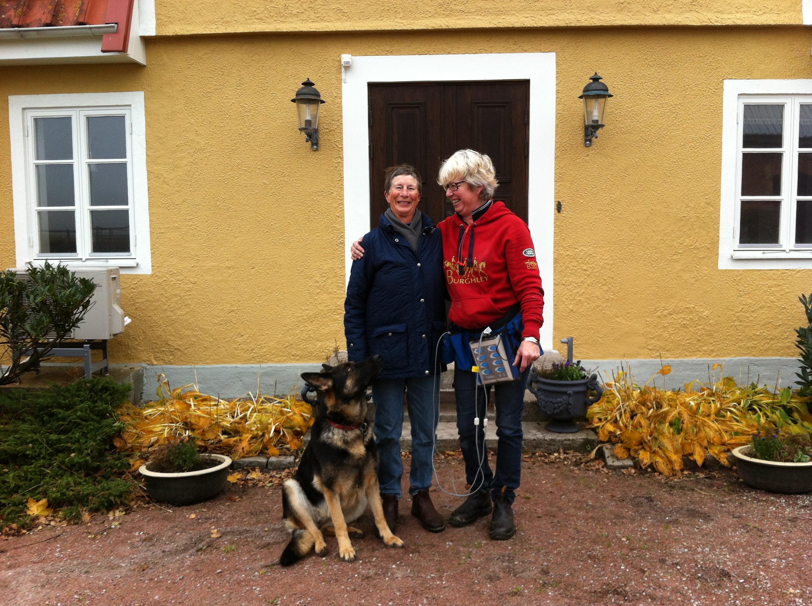 Ulla Håkanson och Kicki 2012