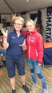 Sara Algotsson och Kicki i PharmaLightmontern