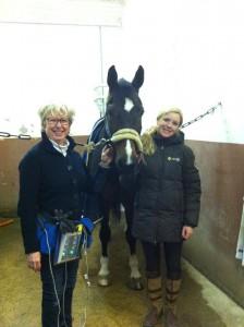 En dag på jobbet, besök hos Sofie Lexner och behandling av Ulla Håkansons Charming Boy